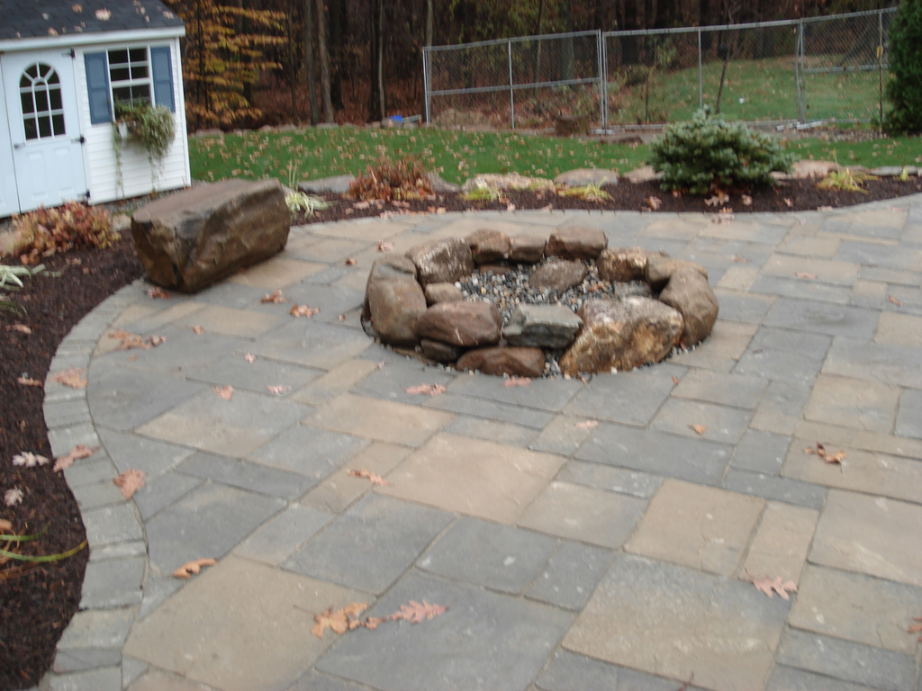 Firepit Installation In Connecticut