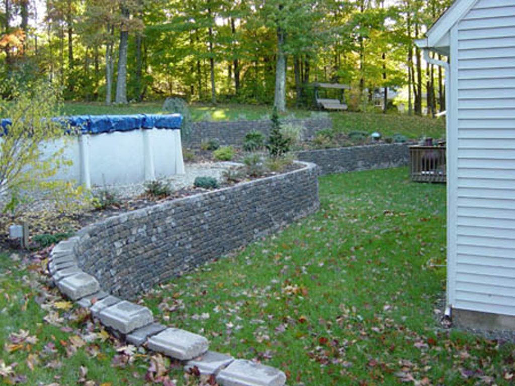 Interlocking Wall System : Interlocking paver retaining walls in connecticut