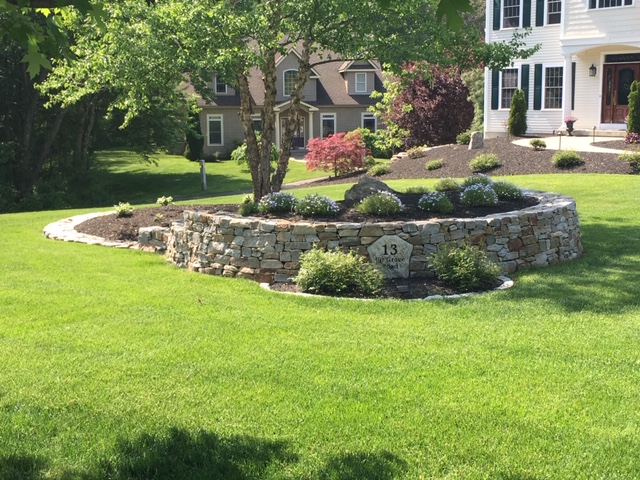 Natural Stone Walls Ct Landscape Stone Wall Contractors Connecticut