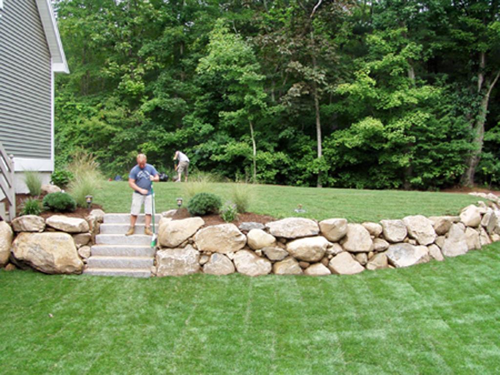 Natural Stone Walls Ct Landscape Stone Wall Contractors