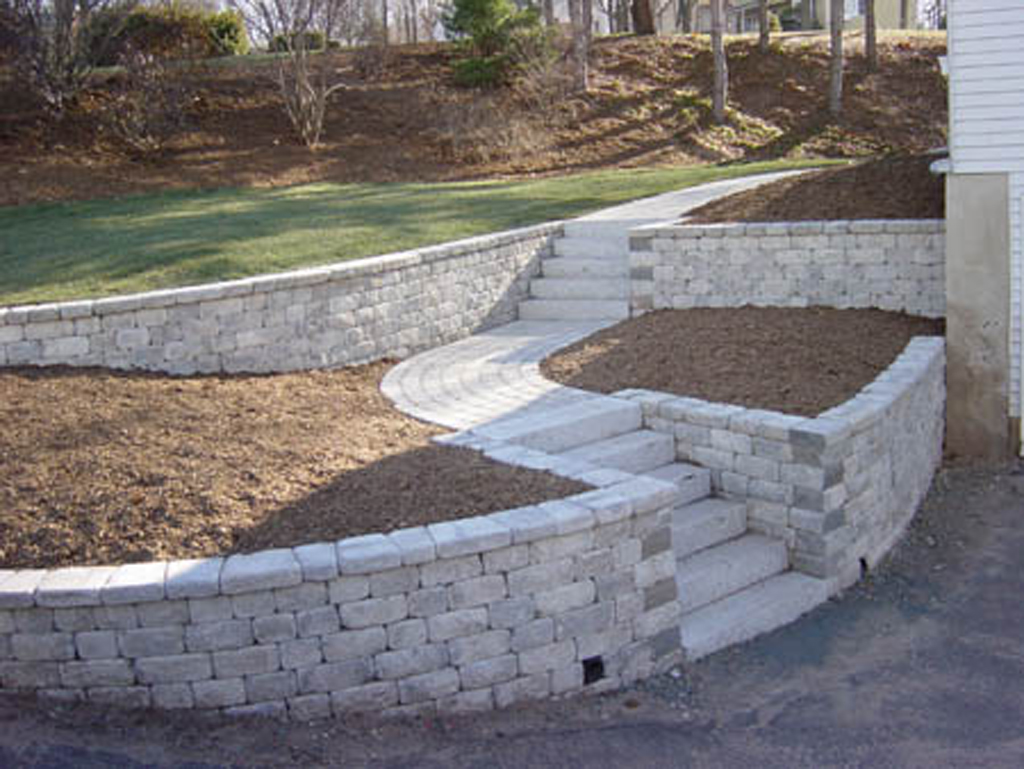 Stone Mountain Elevation Change : Stone steps stairs landings in connecticut outdoor
