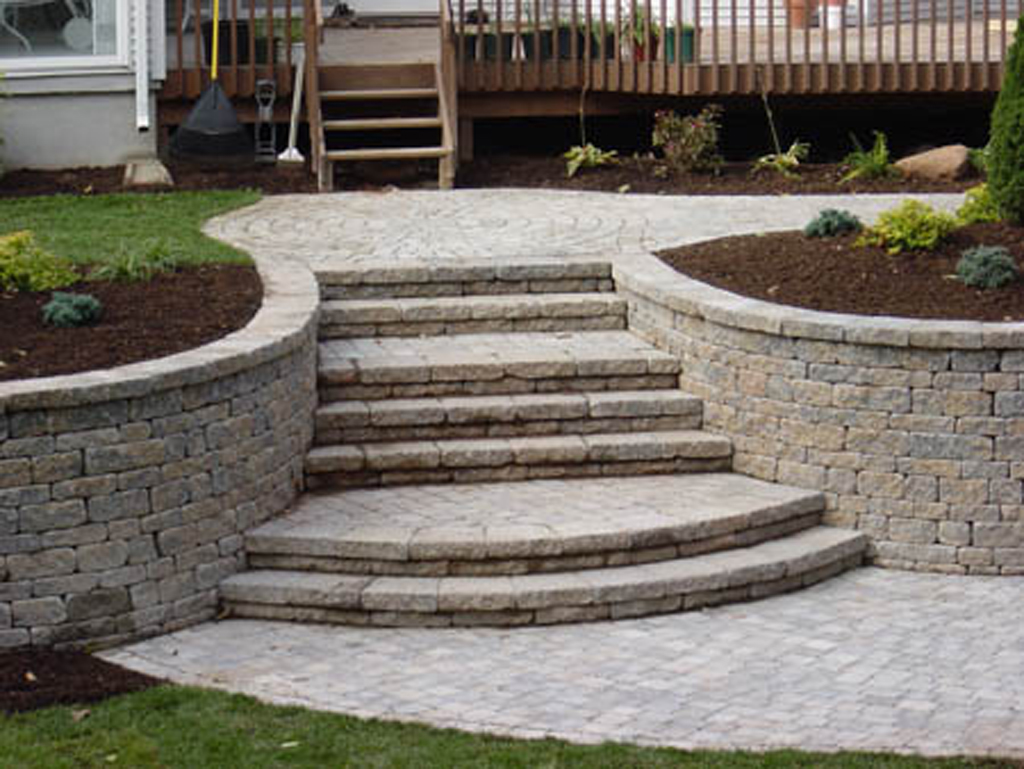Best Stone Steps, Stairs & Landings in Connecticut | Outdoor Granite Stairs GS42