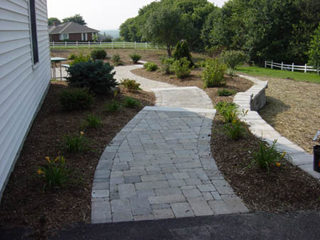 Natural Stone Walkways Home Design