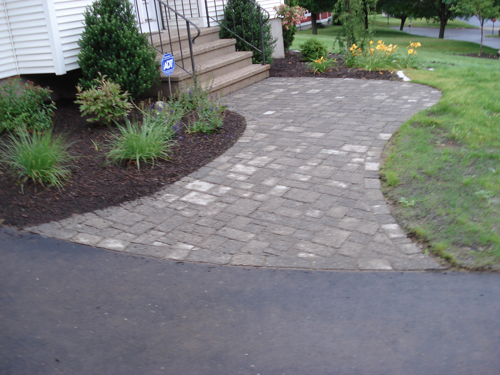 Watch video tours Natural stone walkways